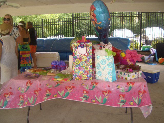 Parties Crafts And Cake Decor Boksburg : Party Decorations - The Mermaid Experience